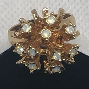 Sarah Coventry Adjustable Ring